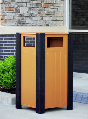 Model PB32-RECPT | Ridgeview Trash Receptacle