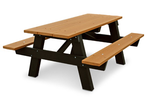 Model PB6APIC6 | Recycled Plastic Kids Picnic Table