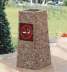 How to Buy a Cigarette Receptacle | Commercial Cigarette