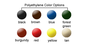 Polyethylene Color Options