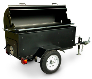 Model PG-2460-WT | PORTA-GRILL Pit Barbeque Mobile Trailer Unit