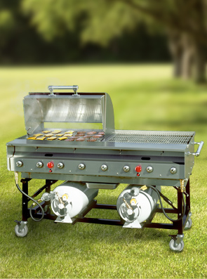 Model PG-SLPX | Stainless Steel Grill with Hood