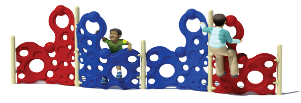 Model PGC-CBW-H | Half Bubble Wall Climber for Younger Kids