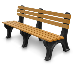 E Series Recycled Plastic Park Benches Belson Outdoors