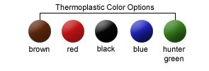 Thermoplastic Coated Color Options