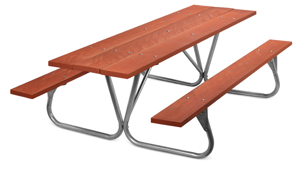 Park Ranger Picnic Table Wood Picnic Tables Belson Outdoors - Park picnic table dimensions