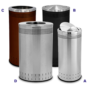 Precision Series 360 Degree Waste Containers