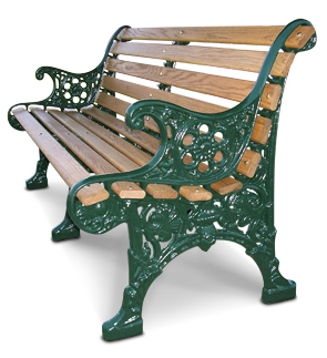 Renaissance Wood Bench Wood Park Benches Belson Outdoors