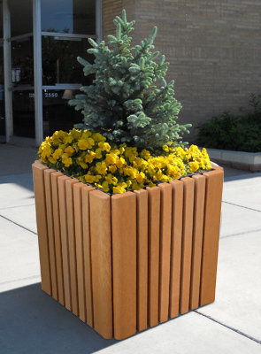 Plastic Outdoor Planters Cambridge square recycled plastic planter belson outdoors outdoor planter made of recycled plastic workwithnaturefo