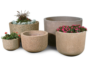 RP Series Reinforced Concrete Planter Collection