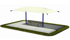 Outdoor Shade Structures  sc 1 st  Belson Outdoors & Large Outdoor Shade Canopy | Shade Structures | Belson Outdoors®