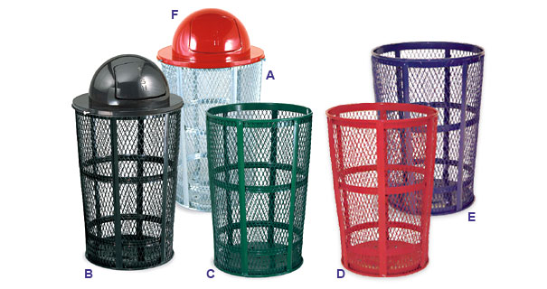 45 Gallon Expanded Steel Baskets