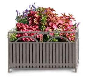 Model SFP36 | Summerfield Series 36 Inch Square Steel Planter
