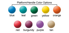 Platform/Handle Color Options