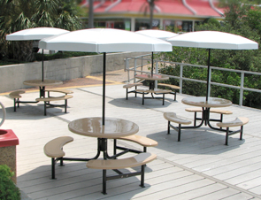 Fiberglass Valance Umbrellas Table Umbrellas Belson Outdoors - Commercial table umbrellas