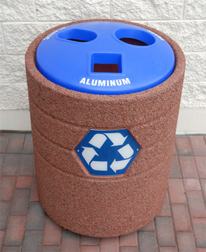 Model TF1223 | Recycling Top Waste Container