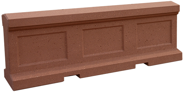 Model TF8055 | Concrete Security Barrier (Brick Red)