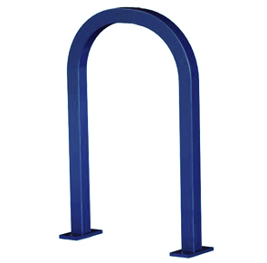 Model U200-SF-P | Square 'U' Rack Bike Rack (Midnight Blue)