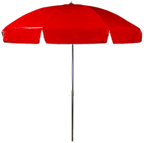 Model UMB75-P-S | Table Umbrella (Red)