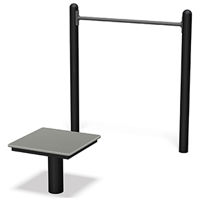 Model UP183 | Horizontal Chin-Up Station