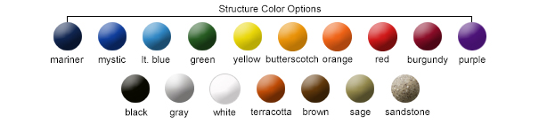 Structure Color Options