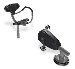 Model UP359SM | Assisted Recumbent Cycle Station