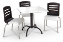 Domino Stacking Chairs and Table Set