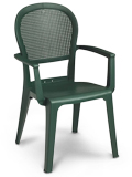 Model US105002 | Seville Resin Chairs with Metal Style Finish (Charcoal)