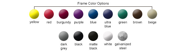 Frame Color Options