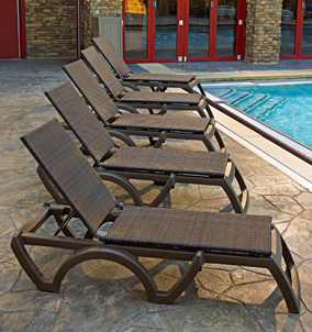 Java All-Weather Resin Adjustable Chaise Lounge
