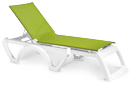 Calypso Adjustable Stacking Sling Chaise Lounge