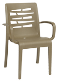 Model US811181 | US118181 | Taupe Essenza Dining Armchair