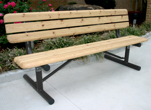 Outdoor Wooden Park Bench Wood Park Benches Belson