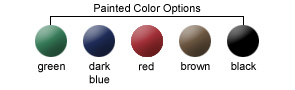 Painted Color Options