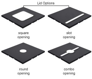 Lid Opening Options