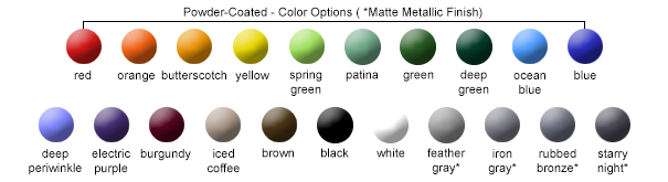 Post Color Options