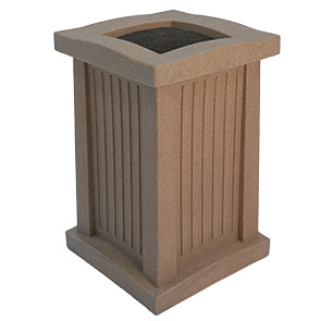 Recycled Plastic Capital Smokers Urn   Belson Outdoors®