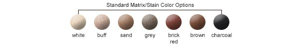 Matrix/Stain Color Options