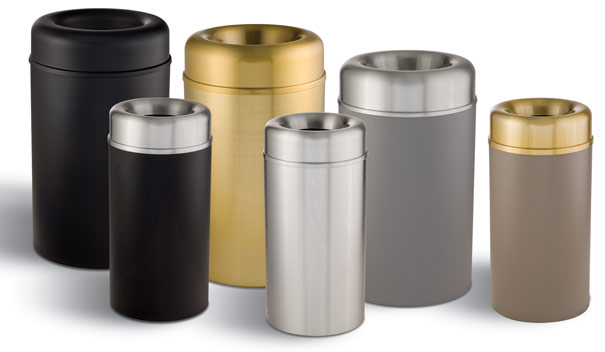 Crown Collection Waste Cans | Metal | Trash Receptacles | Belson ...