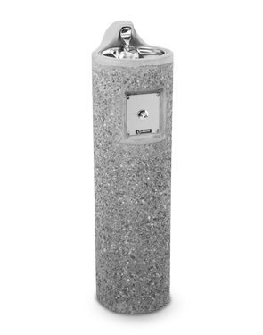 Model 3060FR | Round Pedestal Concrete Drinking Fountain