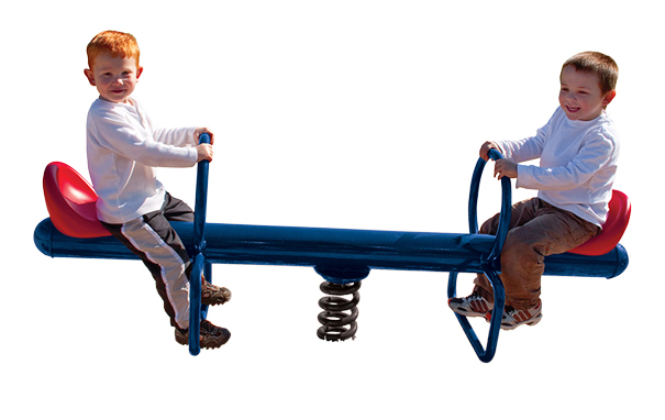 Model 02-07-0055 | Spring See Saw Playground Component