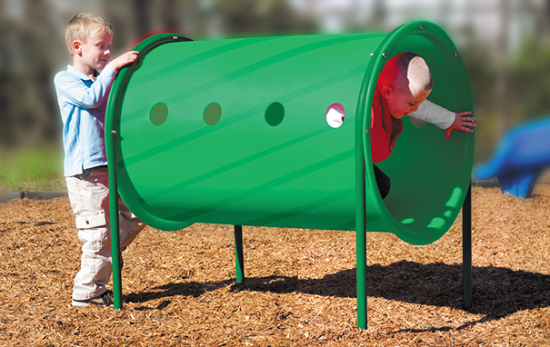 Model 02-07-0057-GRN | Freestanding Crawl Tunnel Playground Component