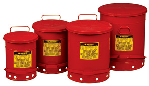 Oily Waste Cans | Foot Operated Collection