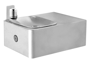 Model 1025G | Haws Wall Mounted Galvanized Steel ADA Drinking Fountain