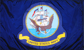 United States Navy Military Flag Graphic