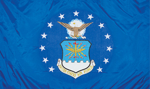 United States Air Force Military Flag Graphic