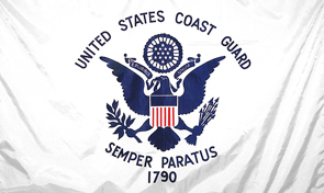 United States Coast Guard Standard Military Flag Graphic