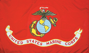 United States Marine Corps Military Flag Graphic
