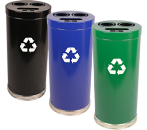 Model 15RT-3H | 3 in One Recycling Receptacles Collection