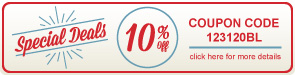 Special Deals - 10% Off All Bleachers